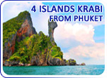 4 Islands Krabi from Phuket