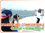 Jamesbond Canoe and View Point by Comfortable Boat