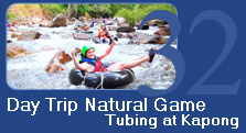 One Day Natural Game Tubing at Kapong