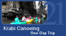 Krabi Canoeing One Day Trip