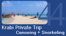 Krabi Private Trip Canoe and Snorkeling