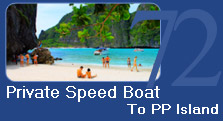 Private Speed Boat to PP Island